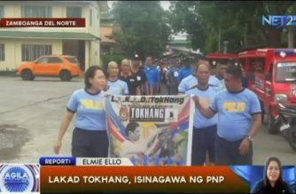 """""""LAKAD"""" tokhang campaign ng PNP, isinagawa sa Zamboanga del Norte"""