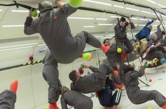 WATCH: Onboard the €6,000-a-ticket zero-gravity plane