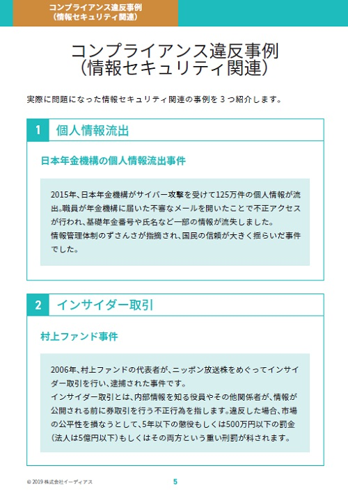 コンプライアンス 抵触チェックガイド【情報セキュリティ編】|@人事のインサート画像