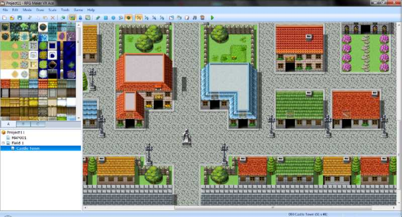 RPG Maker VX Ace Lite Shadow Tool