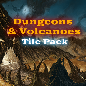 Dungeons and Volcanoes Tile Pack