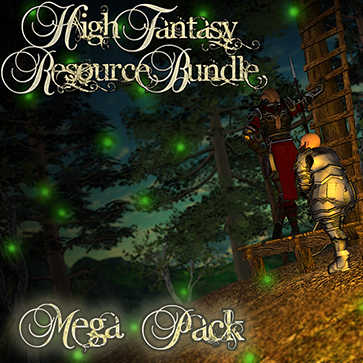 High Fantasy Resource Bundle Mega Pack