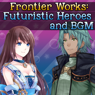 Frontier Works: Futuristic Heroes and BGM Resource Pack