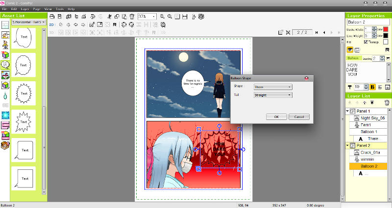 Manga Maker ComiPo! Screenshot 10