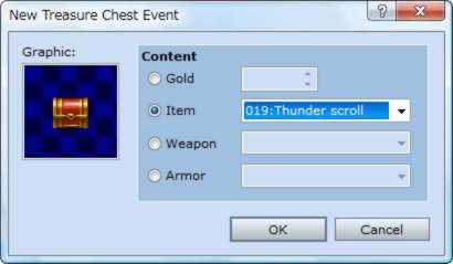 RPG Maker VX Treasure Chests