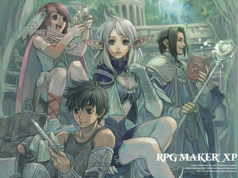 RPG Maker XP Wallpaper Sample Type A