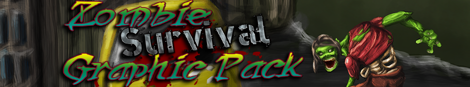 zombie survival graphic pack gratis Zombie-survival-graphic-pack-product