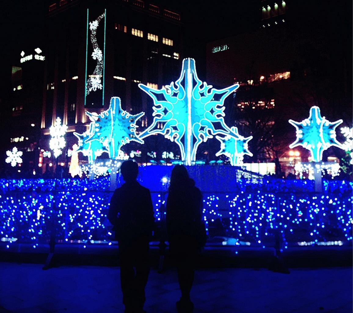83万個の眩い光がお出迎え さっぽろホワイトイルミネーション 札幌