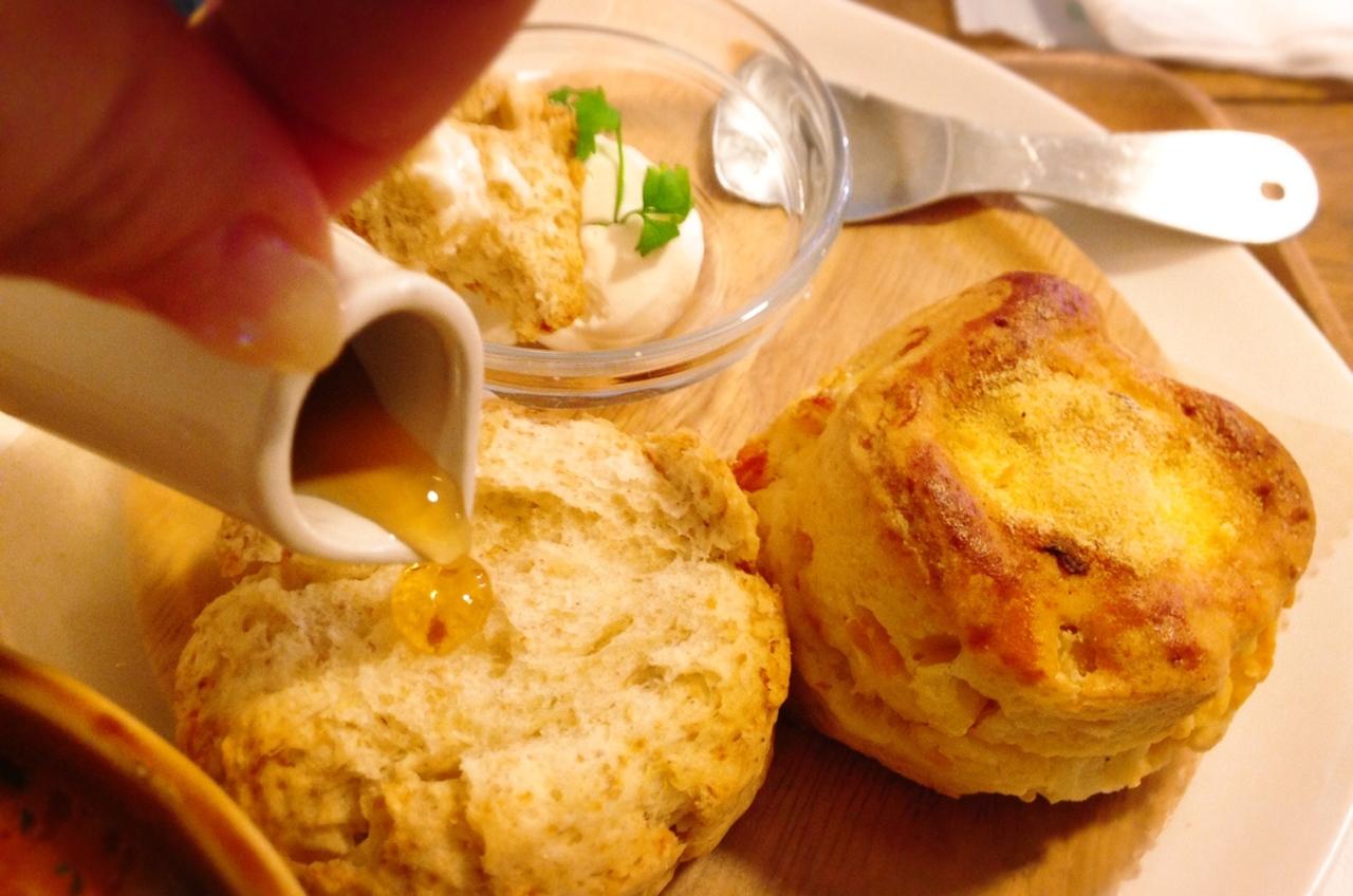 温かなスープとサクサクスコーンを召し上がれ ココロスコーンカフェ 北区 札幌