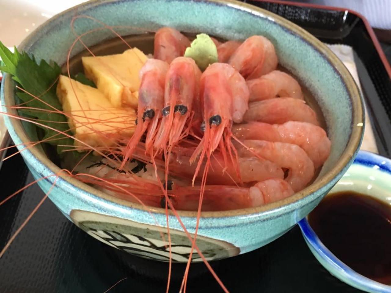 日本海を眺めながら楽しむ 「甘えび」と「足湯」の絶景スポット 札幌