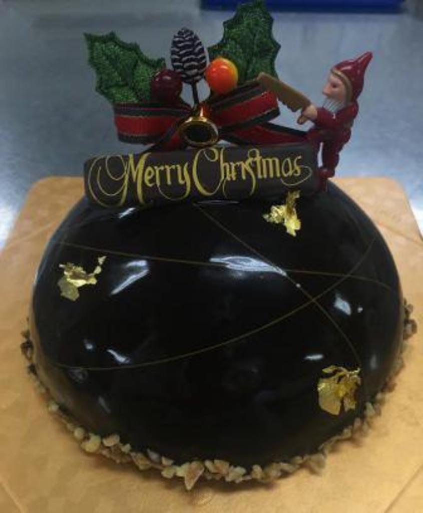 手作りケーキ教室 クリスマスケーキ教室 サッポロファクトリー (12/4) 札幌