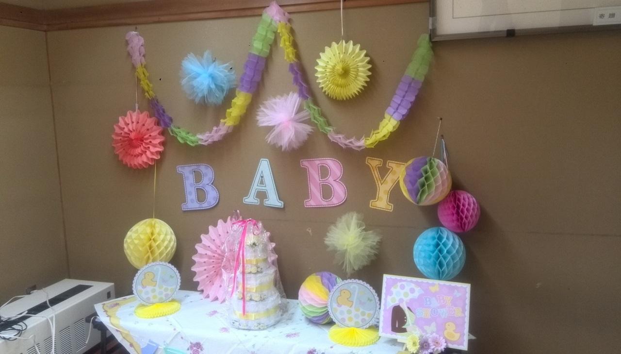 妊婦さん・乳幼児親子対象 ベビーシャワーパーティ体験 西区 (4/27) 札幌