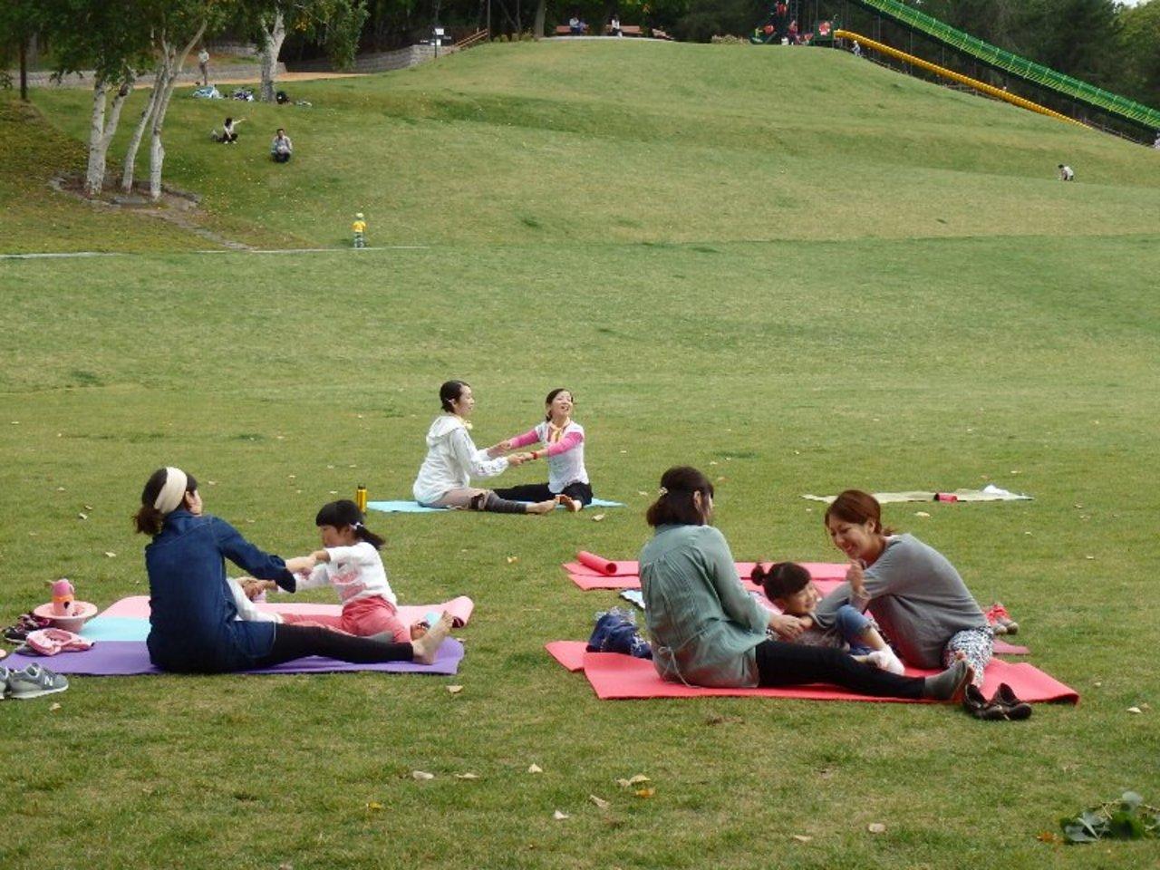 滝野すずらん丘陵公園 キッズヨガ 南区 (8/20) 札幌