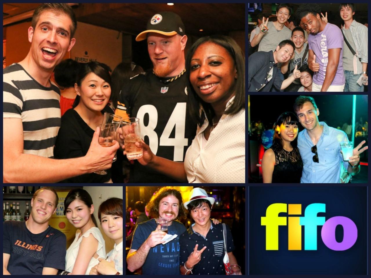 外国人のお友達が作れるThe FIFO国際交流パーティー 中央区 (7/29) 札幌