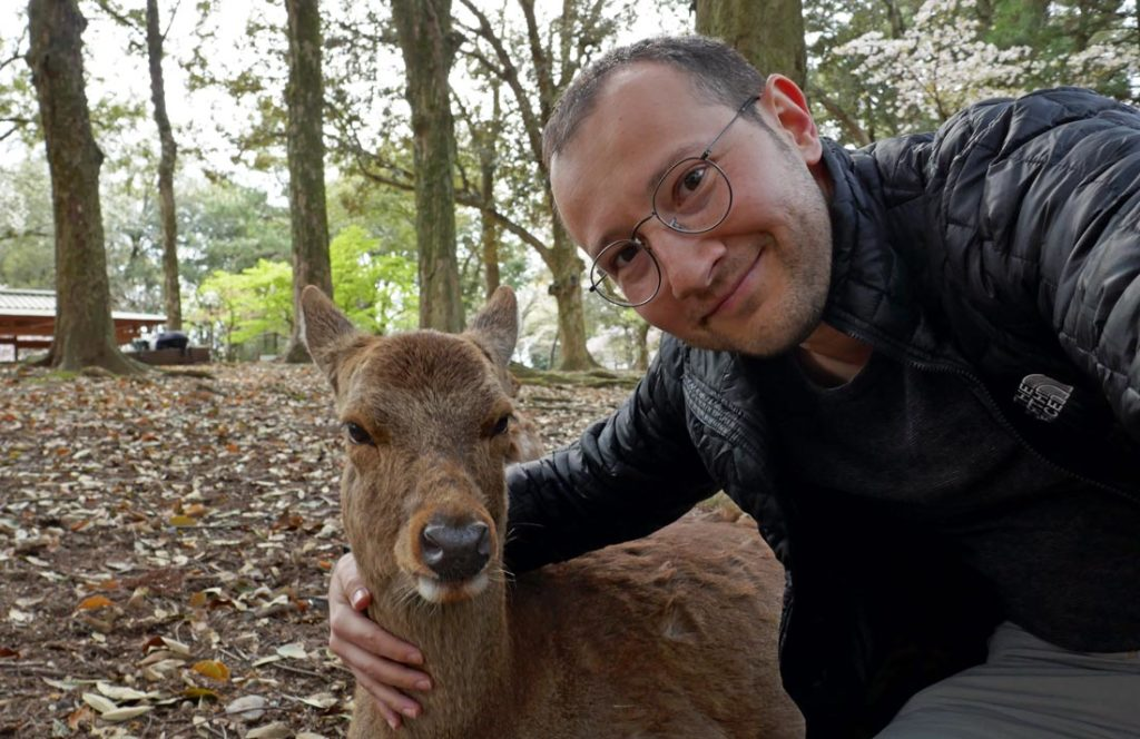 nara-geyik-selfie