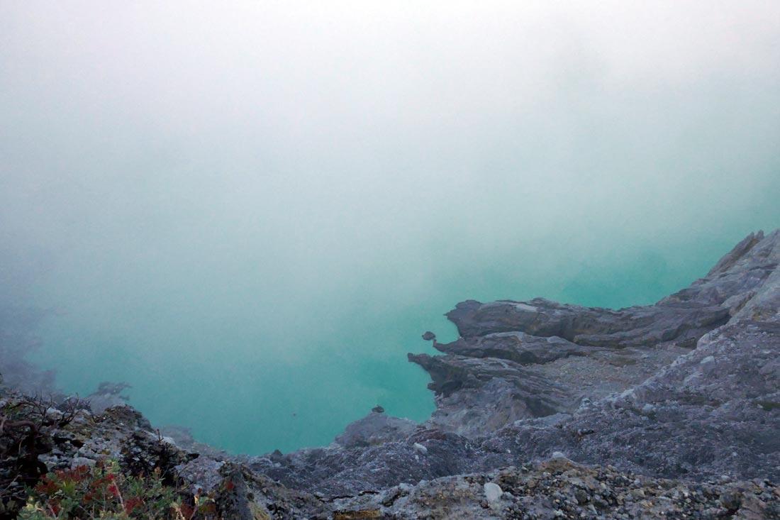 ijen krater gölü