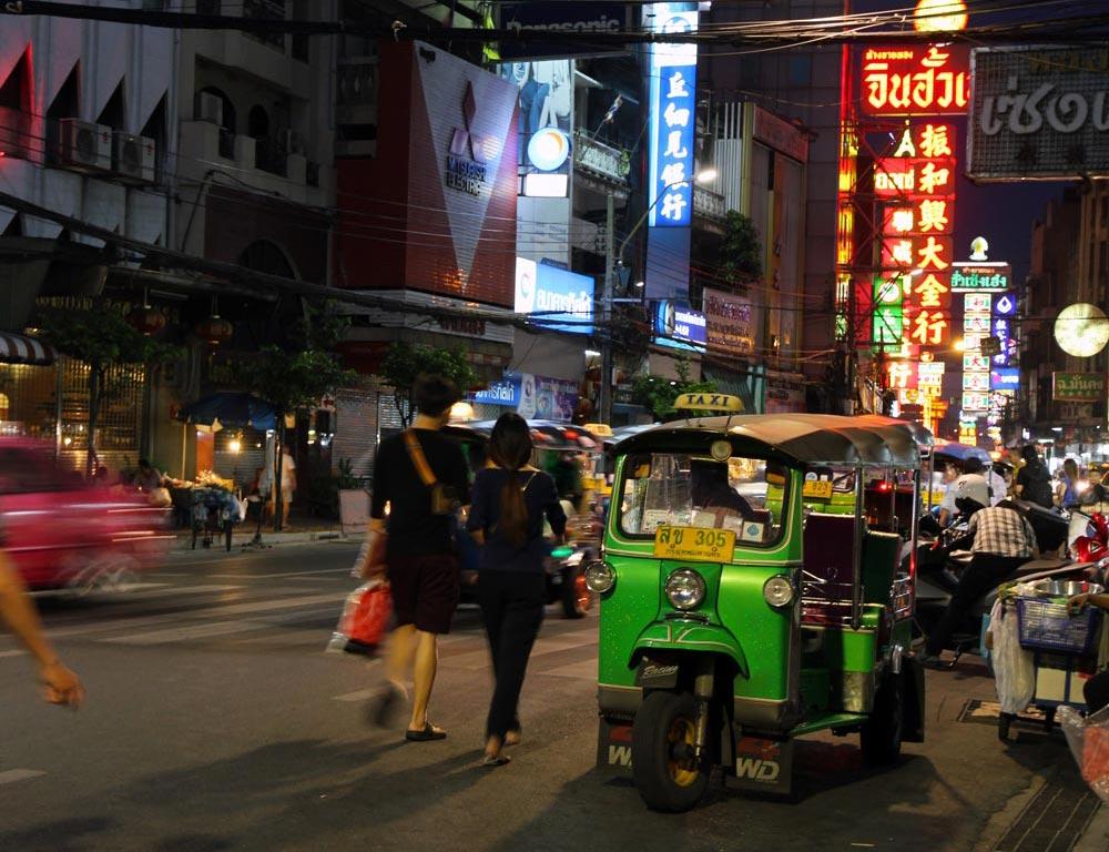 Bangkok gezilecek yerler çin mahallesi