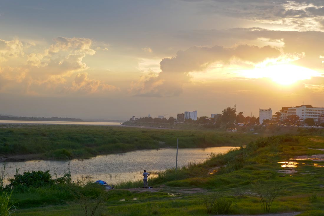 Mekong Nehri, Vientiane