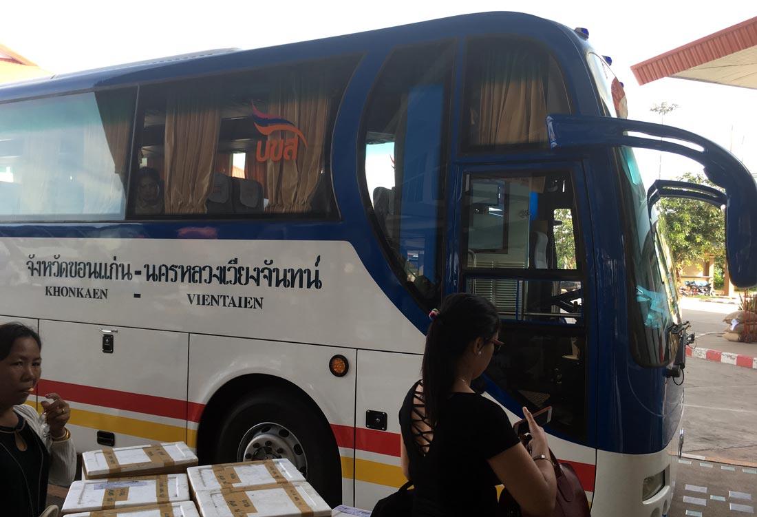 Khon Kaen Vientiane otobüsü