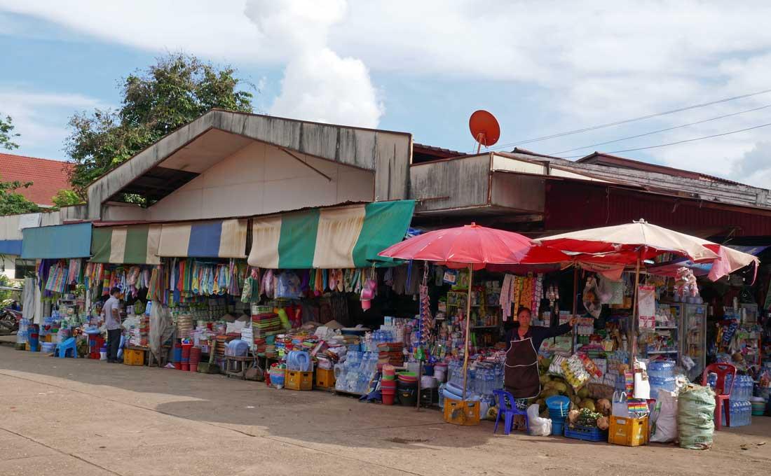 Pakse pirinç satılan yer