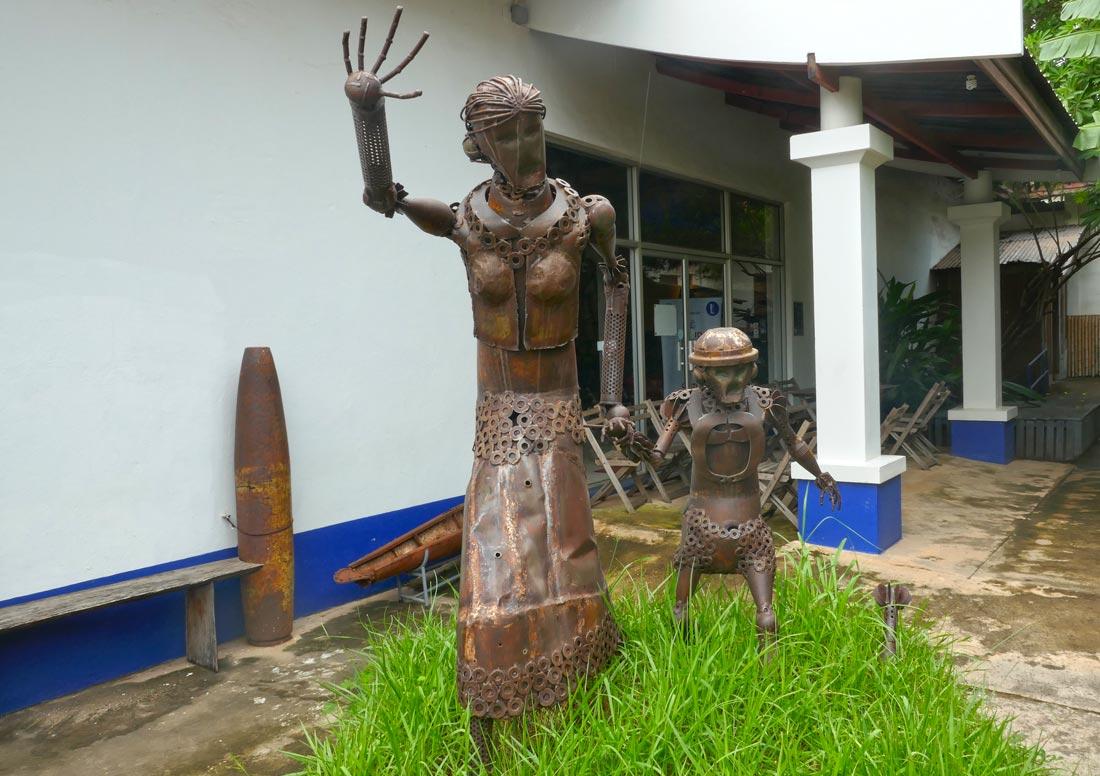Vientiane COPE müzesi