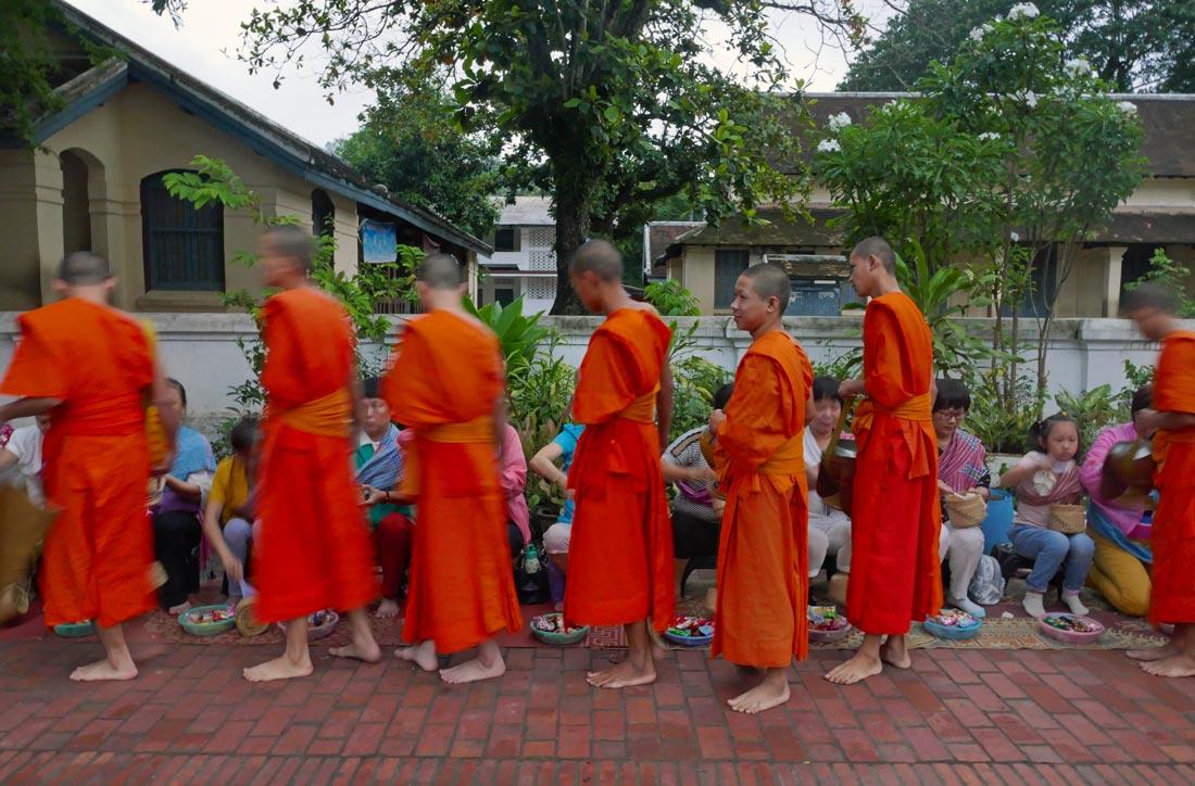 Luang Prabang keşiş
