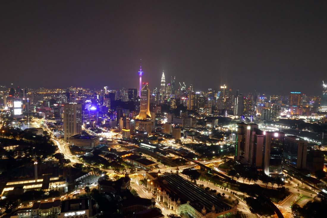 Kuala Lumpur manzarası