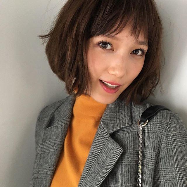 本田翼 髪型 オーダー方法