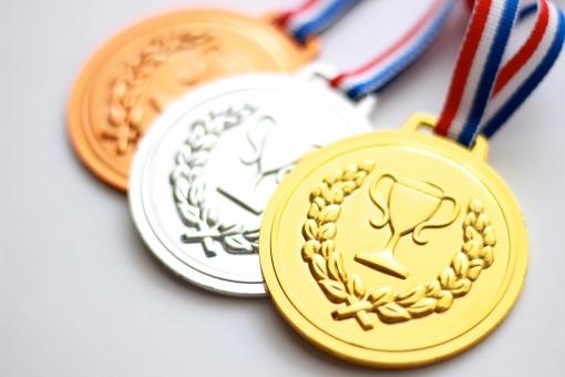 メダル おりがみ