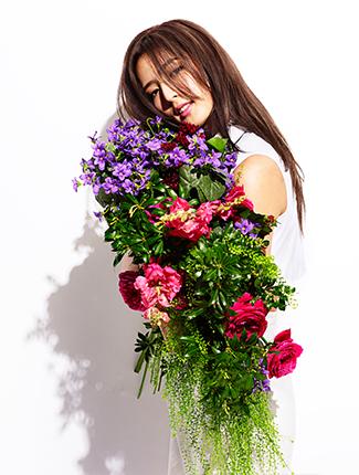 花束と藤井萩花