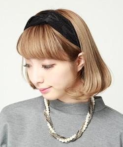 前髪ありもかわいい☆ヘアバンド 髪型