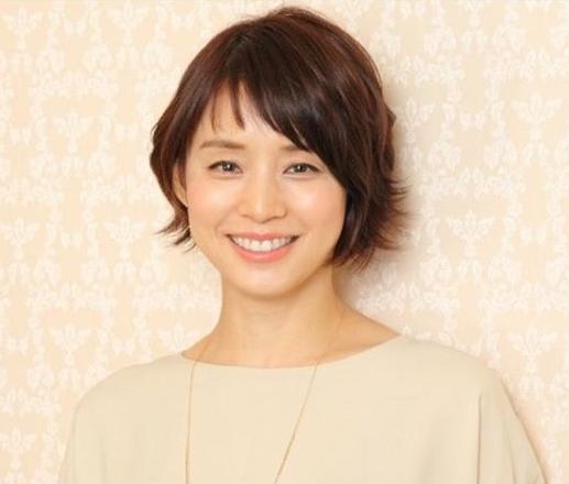 ショートヘアの石田ゆり子