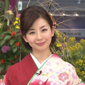 新春あけおめな松尾由美子