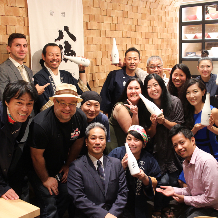 IPPUDO NY has carried off a new style of presenting Japanese food, in collaboration with Hakkaisan sake. 02