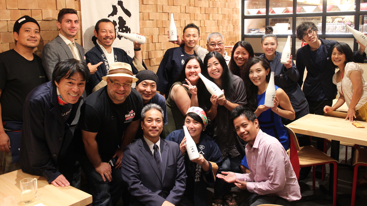 IPPUDO NY has carried off a new style of presenting Japanese food, in collaboration with Hakkaisan sake. 01