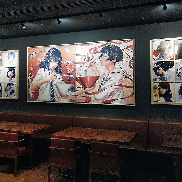 Let's find out the roots of Mr. Wataboku, the much talked about digital artist in Asia who was responsible for the two illustrations of women which are to be exhibited in Singapore Ippudo!
