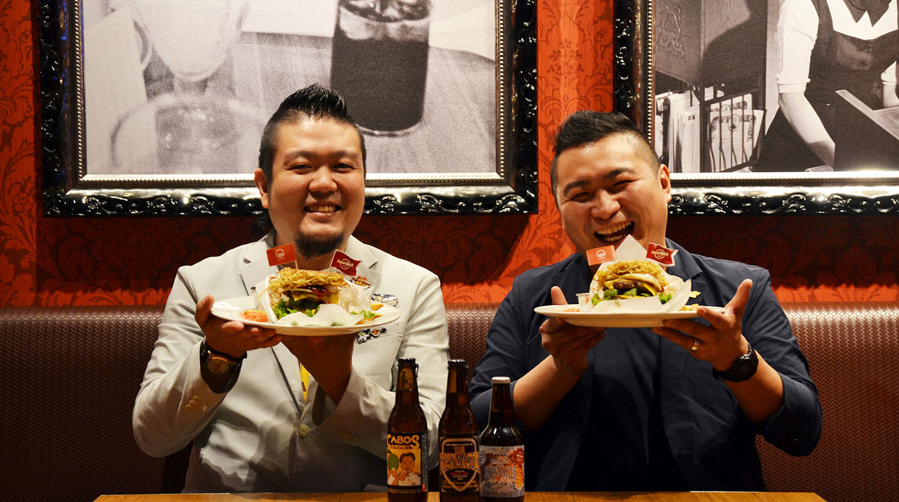 A new tasting Akamaru turned into a hamburger? A dream collaboration between Hard Rock Cafe and Ippudo