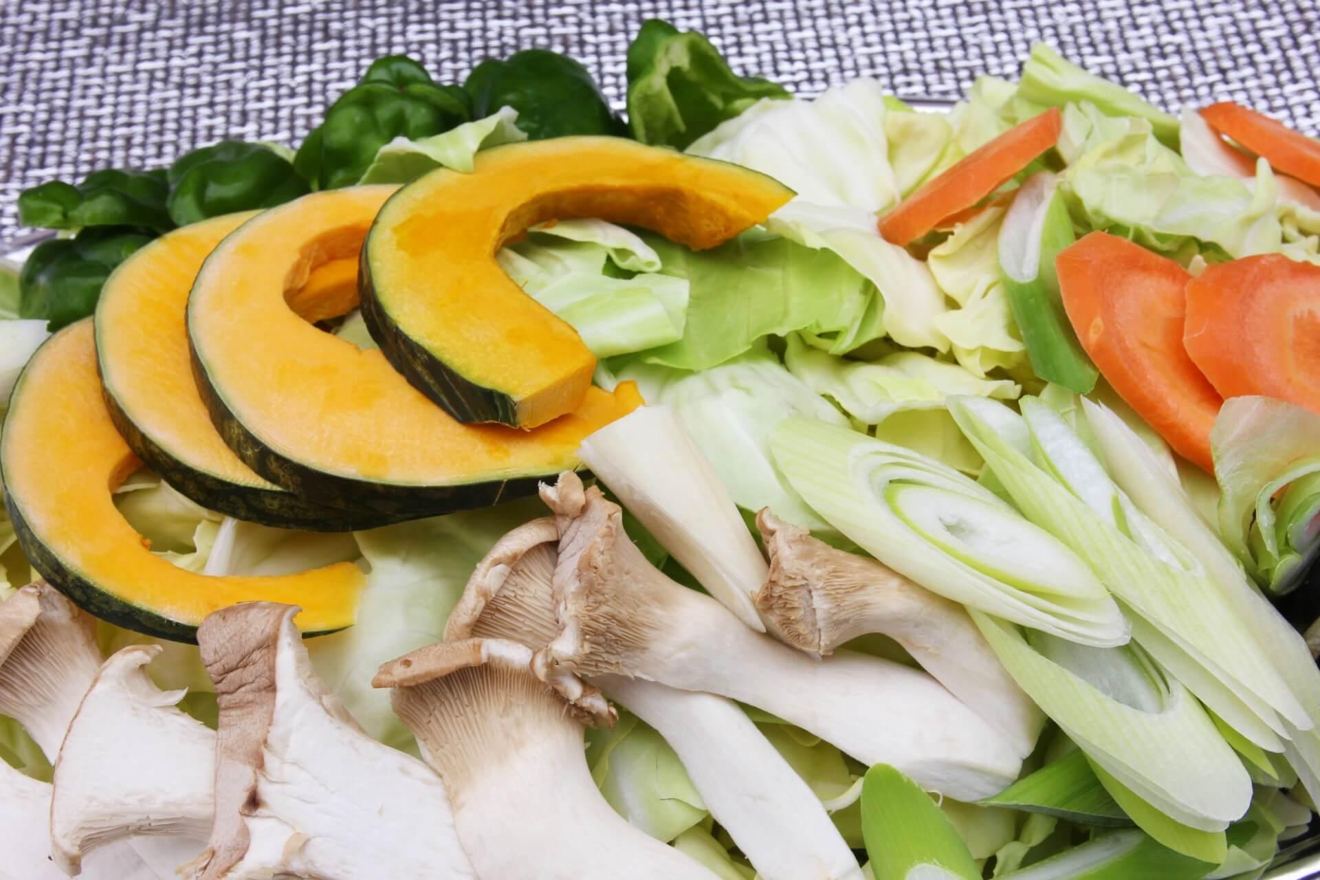 バーベキュー 野菜の切り方