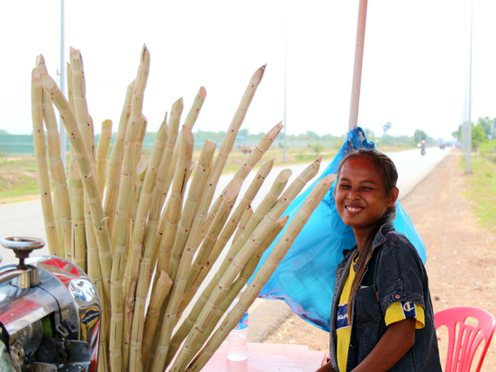【インタビュー】カンボジアで懸命に生きる少女の夢は?
