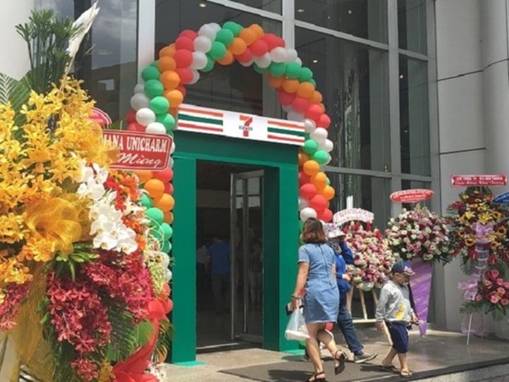 ホーチミンにセブンイレブン第1号店がオープン!