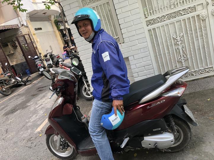 バイクタクシーを体験!