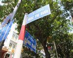 ユリスパ マックチブオイ(Mac thi buoi)通りの交差点を左に曲がります