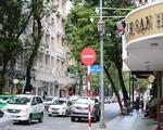 センススパ 道中はお洒落な雑貨店やカフェ&レストランが並んでいます