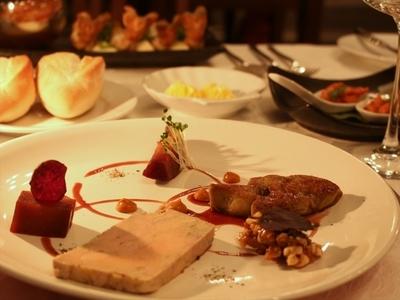 デリス 鴨肉のフォアグラ。ポルトワイン&5種のスパイス