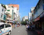 カット・トゥーン トゥーコアフアン通り(THU KHOA HUAN)を直進します。道中はローカルな風景に出会えます♪