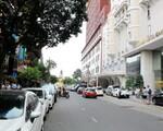 シンコーヒー(ホーフアンギエップ通り店) ホーフアンギエップ通りを歩くと左手に見えてきます。ちなみにこのまま直進すると、チャンフンダオ像に当たります