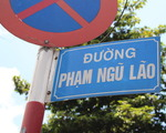 ギンコ・Tシャツ 最初の交差点を左に曲がります。ファングーラオ(Pham Ngu Lao)通りの看板も確認してください