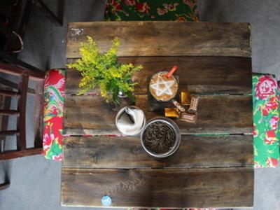 コンカフェ(マックチブオイ通り店) 珈琲ミルク(ホット)