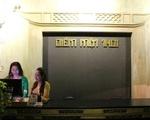 アオザイ・ショー 受付がこちら。左手にアオザイ博物館、その奥が劇場です。