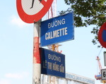 ラ・メール・ボーテ 途中のレーチーホンガム(Le Thi Hong Gam)通りとの交差点も気にせず真っ直ぐ